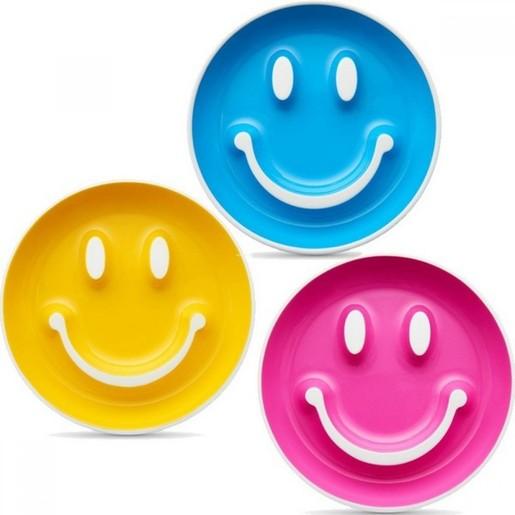 Munchkin Smile n\' Scoop Σετ Πιάτο-Κουταλάκι