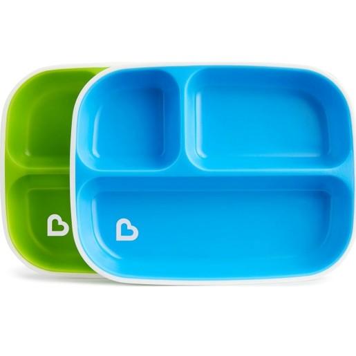 Munchkin Splash Toddler Plates Σετ Πιάτων 2 τμχ