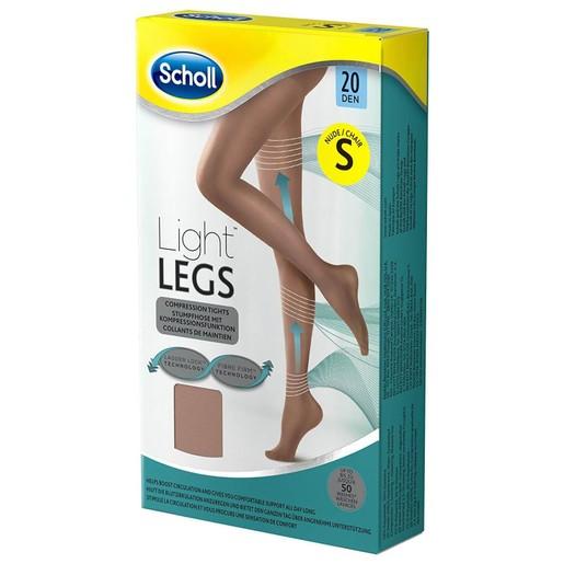 Dr Scholl Light Legs Καλσόν Διαβαθμισμένης Συμπίεσης 20 DEN Μπεζ Χρώμα 1τμχ