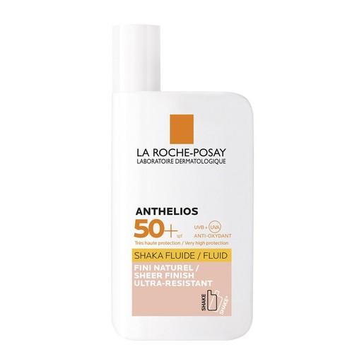 La Roche Posay Anthelios Shaka Fluide Teinte Υψηλή Αντιλιακή Προστασία Προσώπου με Χρώμα Spf50+, 50ml