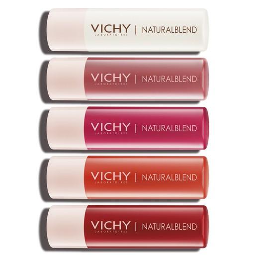 Vichy NaturalBlend Tinted Lip Balm Ενυδατικά Lip Balms με Χρώμα για Εντατική Θρέψη 4.5g