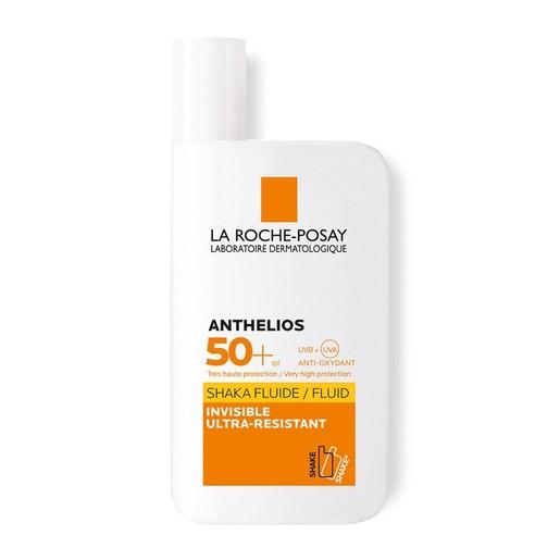 La Roche-Posay Anthelios Shaka Fluid Spf50+ Αντηλιακή Κρέμα Προσώπου-Ματιών, με Τεχνολογία Ενεργοποίησης με τη Κίνηση 50ml