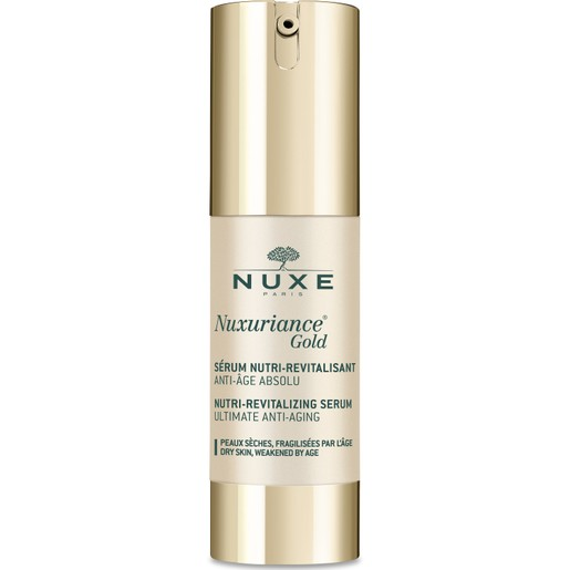 Nuxe Nuxuriance Gold Nutri-Revitalizing Serum Ορός Απόλυτης Αντιγήρανσης για την Ξηρή, Ευαίσθητη Επιδερμίδα 30ml