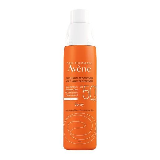 Avene Very High Protection Spray Spf50+ Πολύ Υψηλή Προστασία Προσώπου Σώματος, για Ευαίσθητα Δέρματα 200ml
