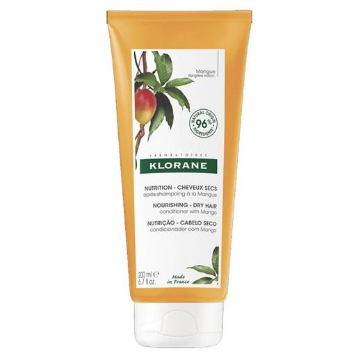 Klorane Nutrition Baume Apres Shampooing Beurre de Mangue 200ml