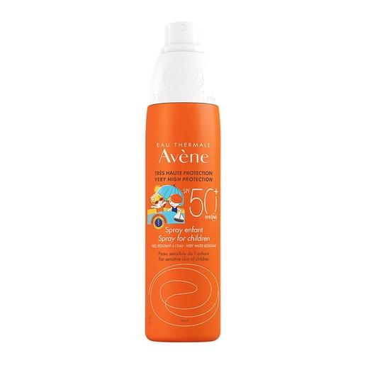 Avene Very High Protection Spray Enfant Spf50+ Πολύ Υψηλή Αντηλιακή Προστασία της Ευαίσθητης Παιδικής Επιδερμίδας 200ml