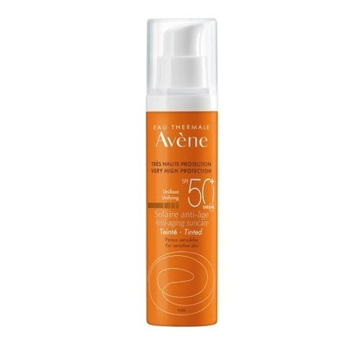 Avene Solaire Anti-Age Teinte Spf50+ Αντηλιακή Αντιγηραντική Κρέμα Προσώπου με Χρώμα 50ml