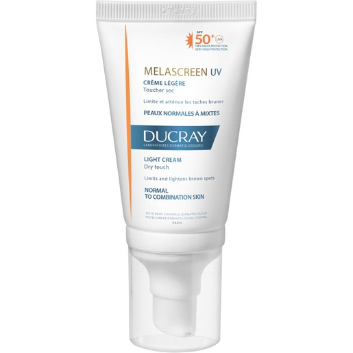 Ducray Melascreen UV Creme Legere Spf50+ Dry Touch Λεπτόρρευστη Αντηλιακή Κρέμα Πολύ Υψηλής Προστασίας 40ml Promo -15%