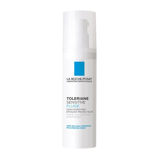 La Roche-Posay Toleriane Sensitive Fluide Λεπτόρρευστη Ενυδατική Κρέμα Προσώπου με Πρεβιοτικά 40ml