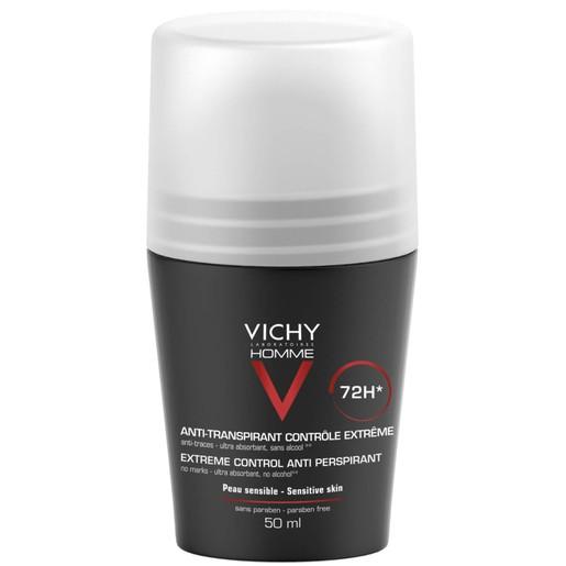 Vichy Homme Deodorant Anti-Perspirant 72h 50ml