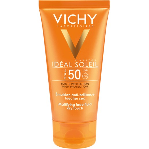 Vichy Ideal Soleil Emulsion Dry Touch Spf50, 50ml