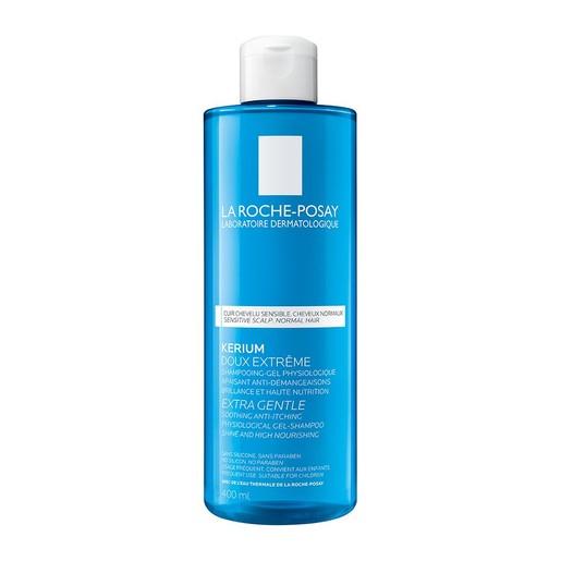 La Roche-Posay Kerium Extra Gentle Gel Shampoo για το Ευαίσθητο Τριχωτό 400ml