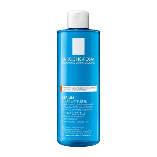La Roche-Posay Kerium Extra Gentle Cream-Shampoo για Ξηρά Μαλλιά 400ml