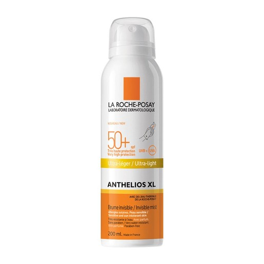 La Roche-Posay Anthelios XL Invisible Mist Ultra Light Spf50+ Αόρατο Δροσερό Mist Σώματος Πολύ Υψηλής Αντηλιακής Προστασίας 200m