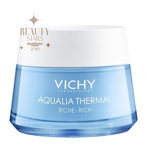 Vichy Aqualia Thermal Rich Rehydrating Cream Ενυδατική Κρέμα Ημέρας Πλούσιας Υφής για Ξηρή Επιδερμίδα 50ml