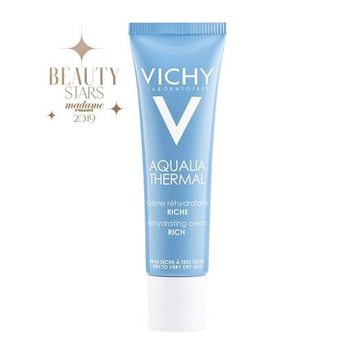 Vichy Aqualia Thermal Rich Rehydrating Cream Ενυδατική Κρέμα Ημέρας Πλούσιας Υφής για Ξηρή Επιδερμίδα 30ml