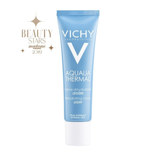 Vichy Aqualia Thermal Legere Rehydrating Cream Ενυδατική Κρέμα Ημέρας Ελαφριάς Υφής για Κανονική - Έως Ξηρή Επιδερμίδα 30ml
