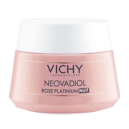 Vichy Neovadiol Rose Platinium Nuit Φροντίδα Νύχτας από την Εμμηνόπαυση & Μετά για Αναζωογόνηση & Τόνωση της Επιδερμίδας 50ml