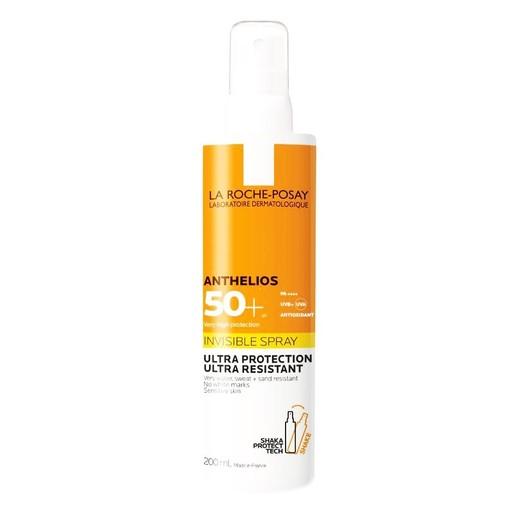 La Roche Posay Anthelios Invisible Shaka Spray Ultra Protection Spf50 Προσφέρει Πολύ Υψηλή Προστασία Ευρέως Φάσματος 200ml