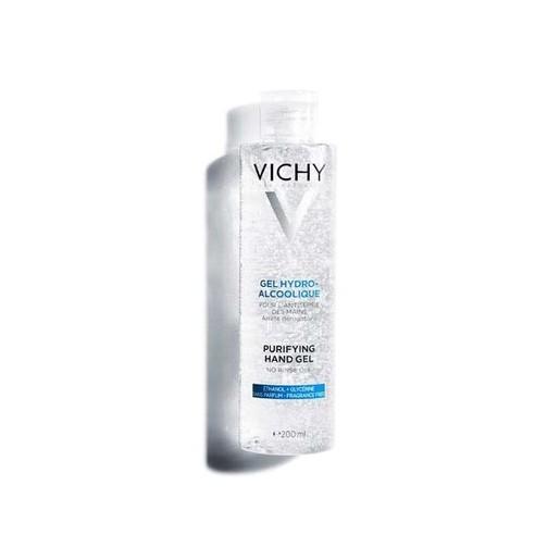 Vichy Gel Hydro-Alcoolique Purifying Hand Gel Καθαριστικό, Ενυδατικό Gel Χεριών με Αντισηπτική & Καλλυντική Δράση 200ml