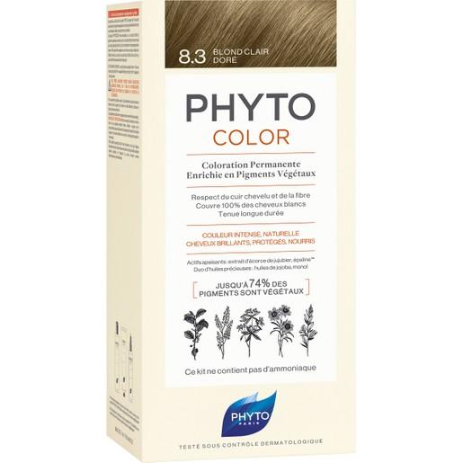 Phyto PhytoColor Coloration Permanente η No1 Μόνιμη Βαφή Μαλλιών Χωρίς Χρωστικές Ουσίες & Αμμωνία