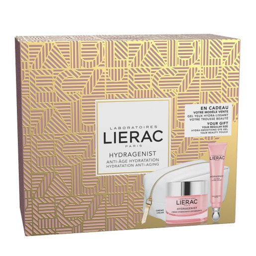 Lierac Gift Box Hydragenist Creme 50ml & Δώρο Hydragenist Gel Yeux Hydra Lissant 15ml