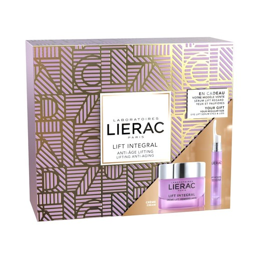Lierac Gift Box Lift Integral Creme 50ml & Δώρο Lift Integral Serum Yeux & Paupieres 15ml