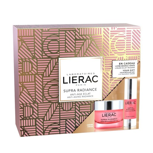 Lierac Gift Box Supra Radiance Creme Renovatrice Anti-Ox 50ml & Δώρο Supra Radiance Eye Radiance Serum 15ml