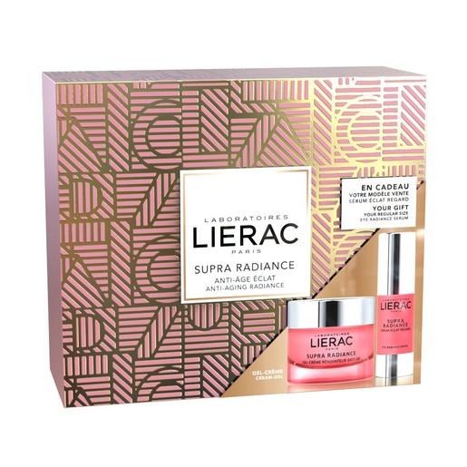 Lierac Gift Box Supra Radiance Gel-Creme Renovatrice Anti-Ox 50ml & Δώρο Supra Radiance Eye Radiance Serum 15ml