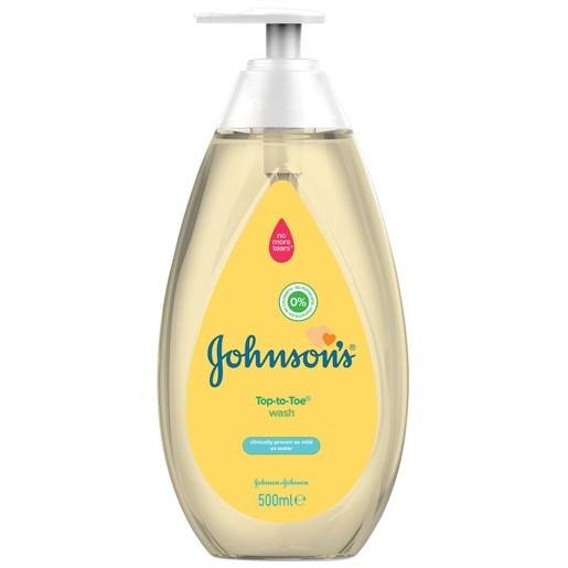 Johnson\'s Baby Top-to-toe 2 σε 1 Αφρόλουτρο & Σαμπουάν 500ml