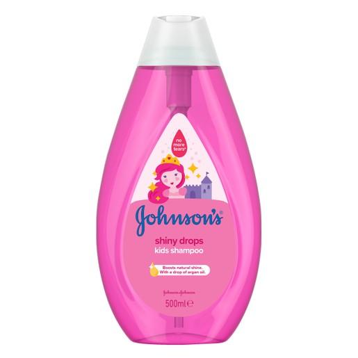 Johnson\'s Kids Shiny Drops Σαμπουάν 500ml