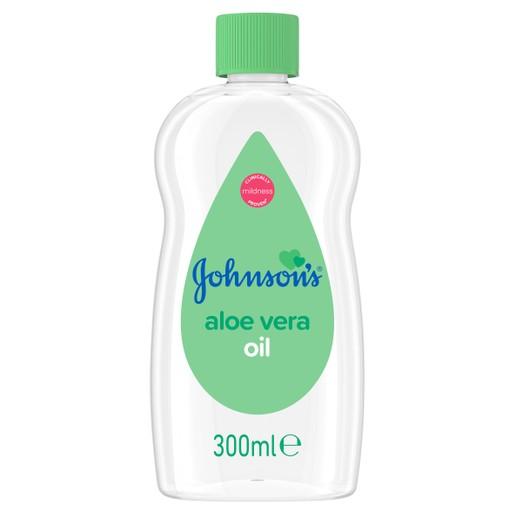 Johnson\'s Baby Aloe Vera Oil Ενυδατικό Λάδι 300ml