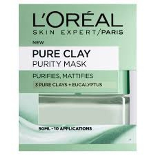 L\'oreal Paris Pure Clay Purity Mask 50ml