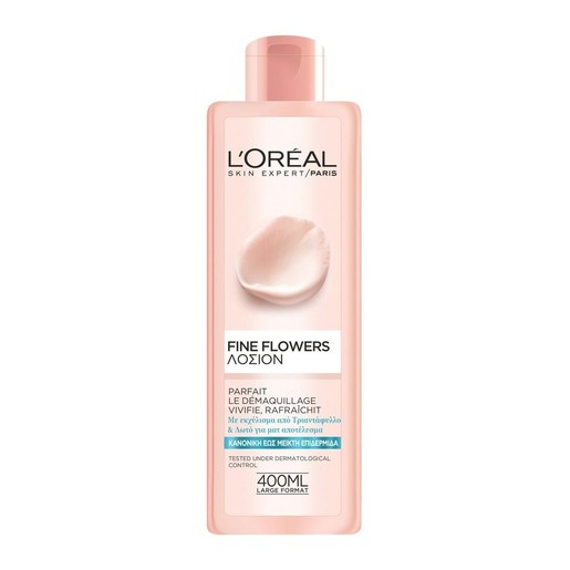 L\'oreal Paris Fine Flowers Tonic Lotion Normal Skin 400ml