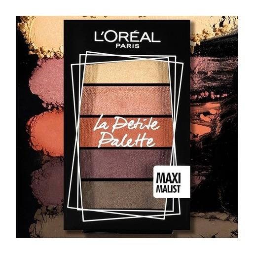 L\'oreal Paris La Petite Mini Eyeshadow Palette 5x0.80gr