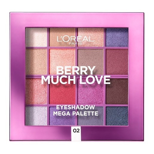 L\'oreal Paris Berry Much Love Palette Παλέτα Σκιών Ματιών 17gr