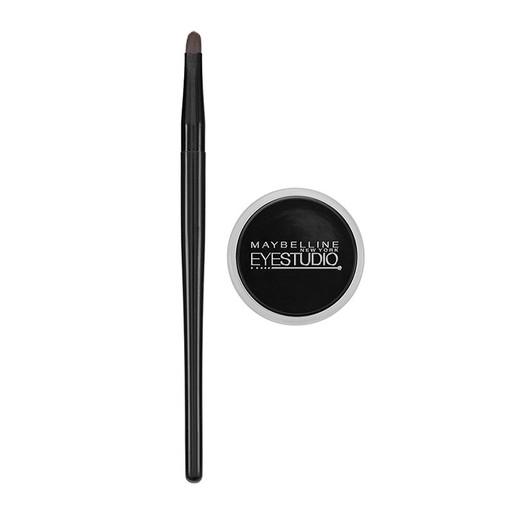Maybelline Eye Studio Gel Liner Black Eyeliner σε Μορφή Gel 2.8gr