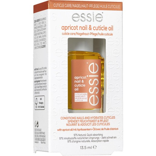 Essie Nail Care Apricot Nail & Cuticle Oil Μαλακτικό Έλαιο Βερύκοκκο για Νύχια & Παρωνυχίδες 13.5ml