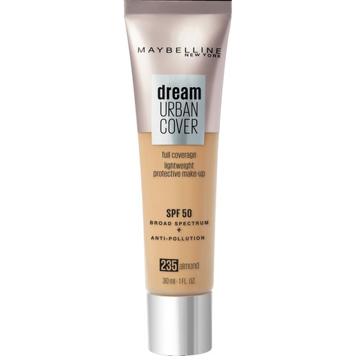 Maybelline Dream Urban Cover Make-Up Spf50, 235 Almond 30ml