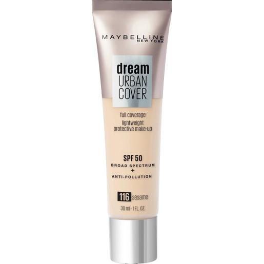 Maybelline Dream Urban Cover Make-Up Spf50, 116 Sesame 30ml