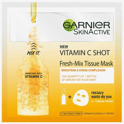Garnier Vitamin C Tissue Mask Fresh-Mix 33gr