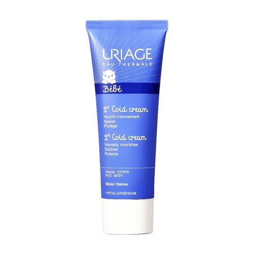 Uriage Eau Thermale 1st Cold Cream Προσφέρει Ιδανική Προστατευτική Φροντίδα στο Πρόσωπο και το Σώμα 75ml