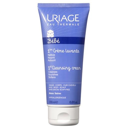 Uriage Eau Thermale Bebe 1st Cleansing Cream Βάση Καθαρισμού Χωρίς Σαπούνι με Φυσιολογικό pH 200ml
