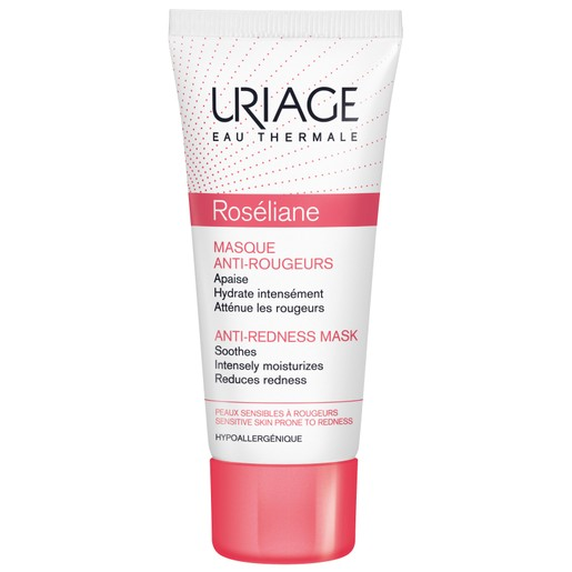 Uriage Eau Thermale Anti-Redness Mask Μάσκα Κατά της Ερυθρότητας για Ευαίσθητες Επιδερμίδες με Τάση για Κοκκινίλες 40ml