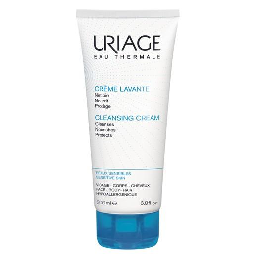 Uriage Eau Thermale Cleansing Cream Κρέμα Καθαρισμού Περιποίησης και Ντεμακιγιάζ  200ml