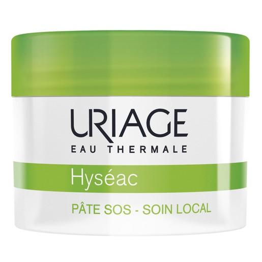 Uriage Eau Thermale Hyseac Sos Paste Local Skincare Επιταχύνει τη Διαδικασία Ωρίμανσης των Ατελειών 15gr