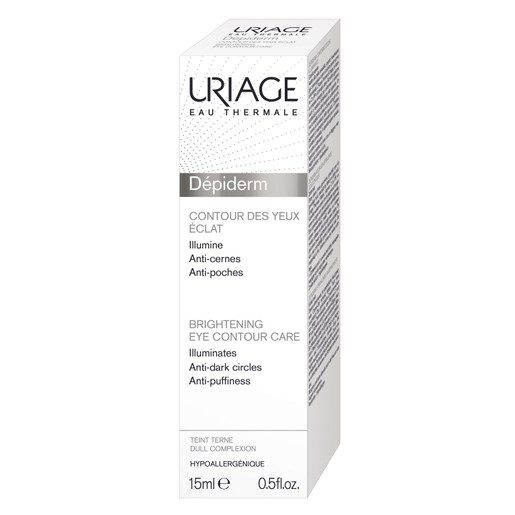 Uriage Eau Thermale Depiderm Brightening Eye Contour Care Φωτίζει το Θαμπό Δέρμα που Έχει Χάσει τη Λάμψη του 15ml