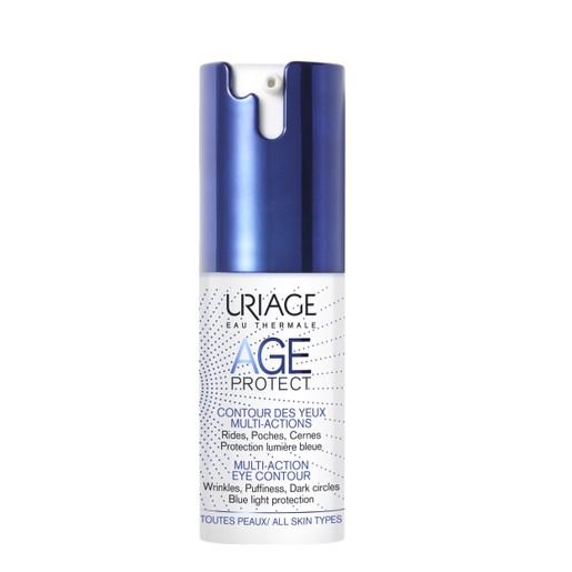 Uriage Eau Thermale Age Protect Multi Action Eye Contour Διορθώνει τα Σημάδια Γήρανσης 15ml