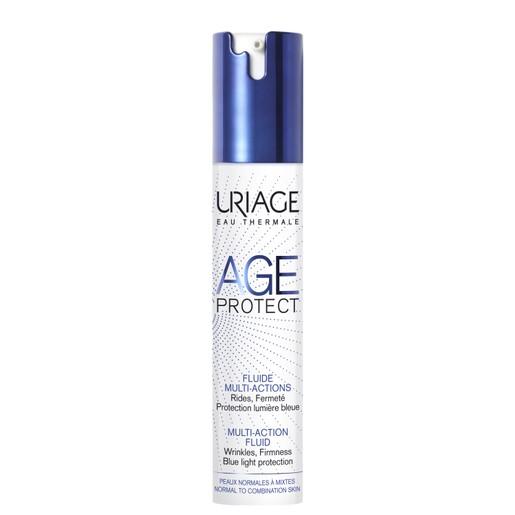 Uriage Eau Thermale Age Protect Night Cream Καταπολεμά τα Σημάδια Γήρανσης και Βελτιώνει την Οξυγόνωση του Δέρματος 40ml