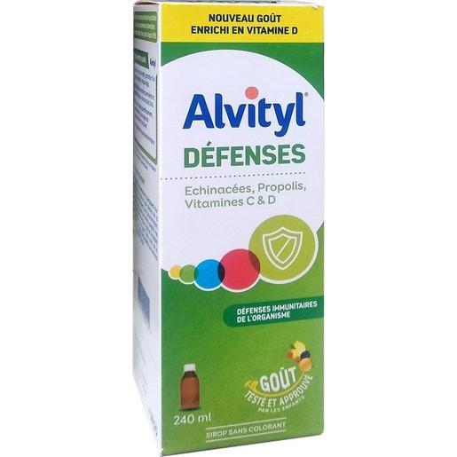 Alvityl Defences Εχινάκεια Πρόπολη & Βιταμίνη C Συνιστάται για την Πρόληψη Των Λοιμώξεων του Χειμώνα 240ml